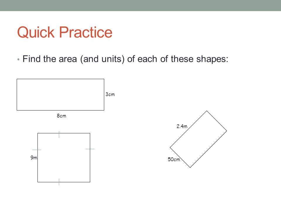 Grade 4: Perimeter, Area, and Volume: Overview