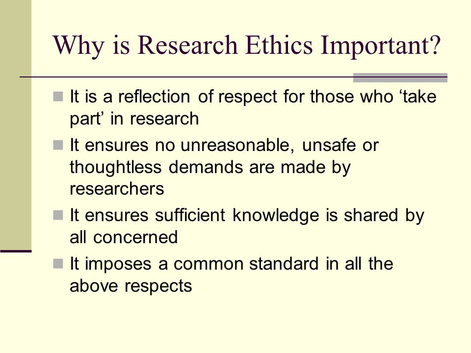 why are ethics important Why are ethics important recent events in corporate america have demonstrated the destructive effects that occur when the leadership of a.