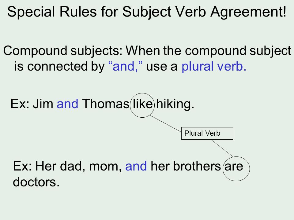 worksheet: Compound Subject Verb Agreement Worksheets Daily ...