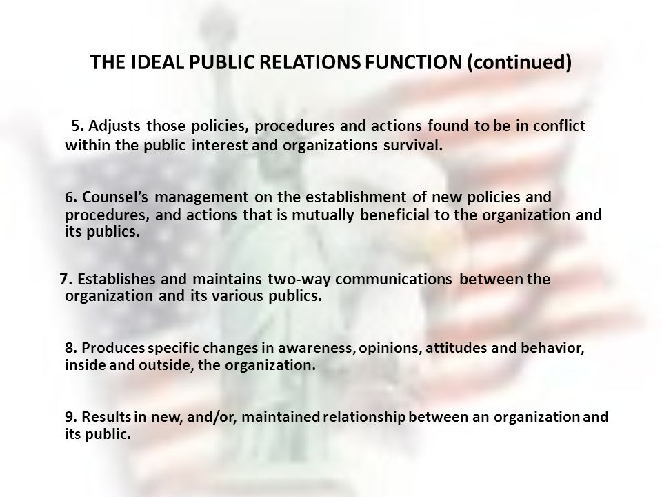 public relations as a management function pdf