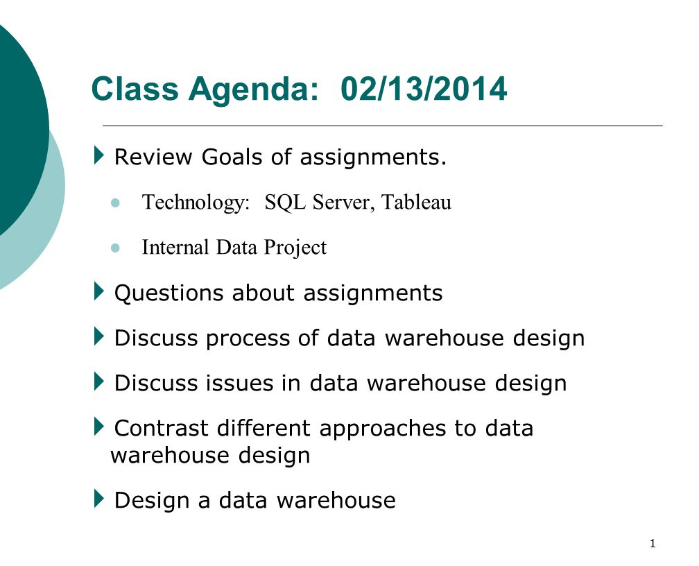 Class Agenda 02 13 2014 Review Goals Of Assignments Ppt Download