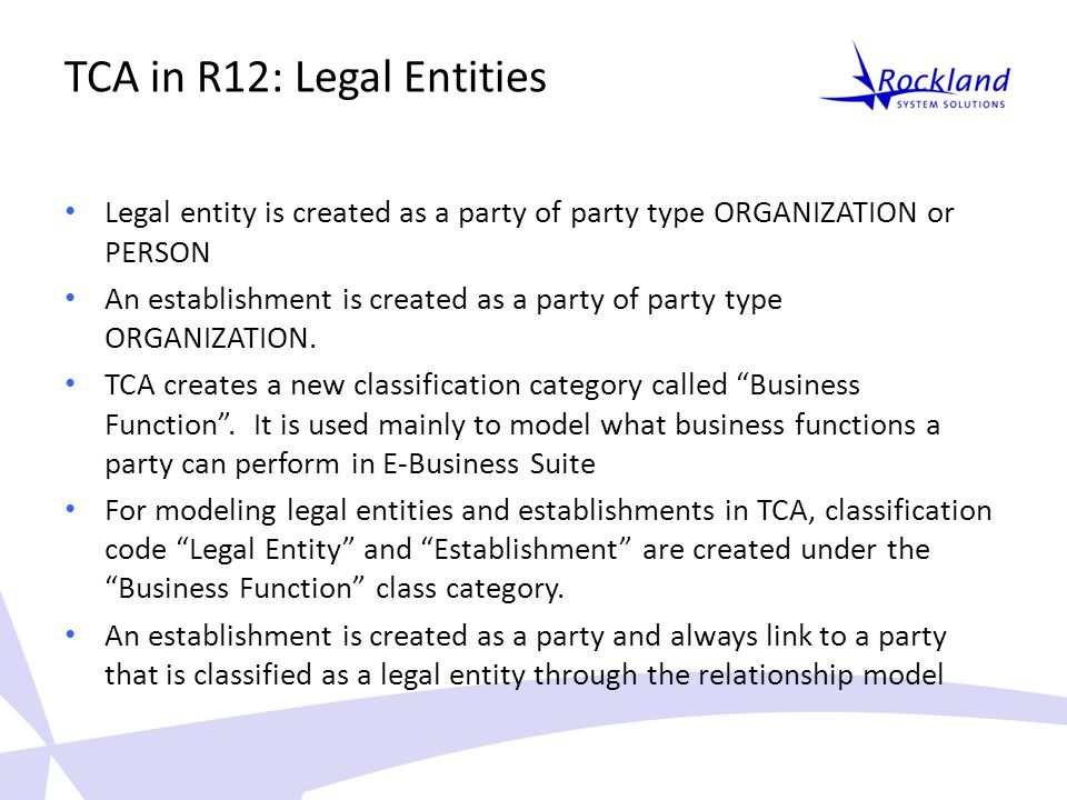 legal entities and relationships pdf
