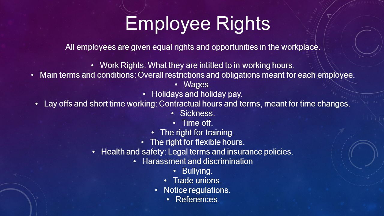 Employee Rights Intellectual Property