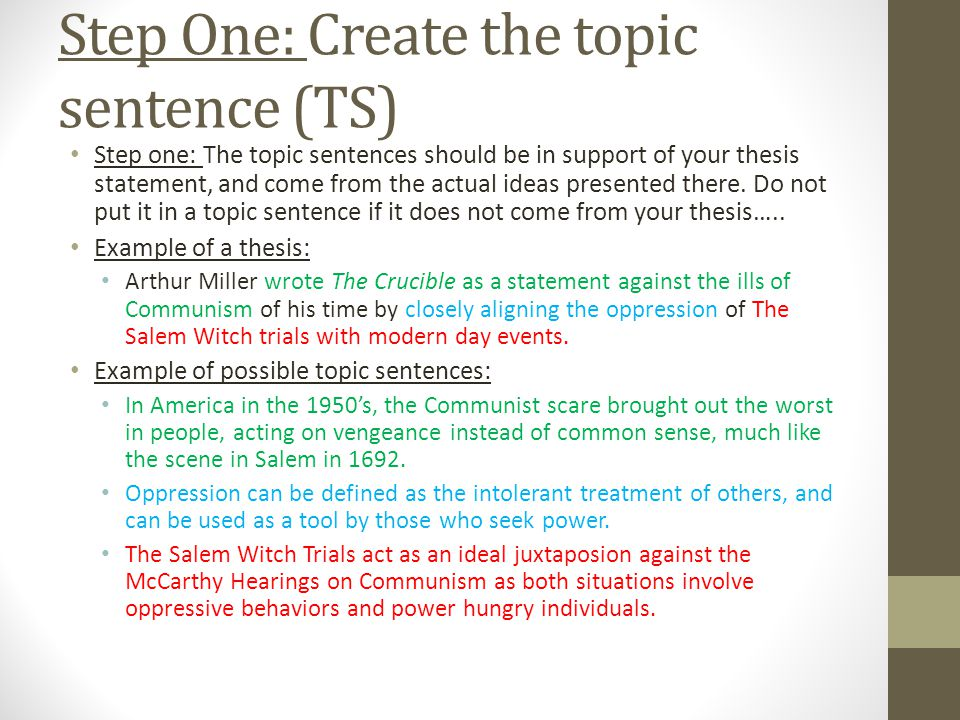 thesis on salem witch trials I need a thesis statement for the crucible by arthur miller that compares the salem witch trials to mccarthyism i need a thesis statement for the crucible by arthur miller that compares the salem.