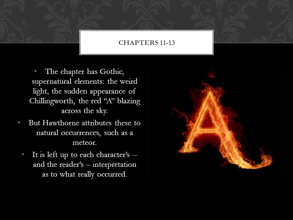 Supernatural Scarlet Letter Chapter