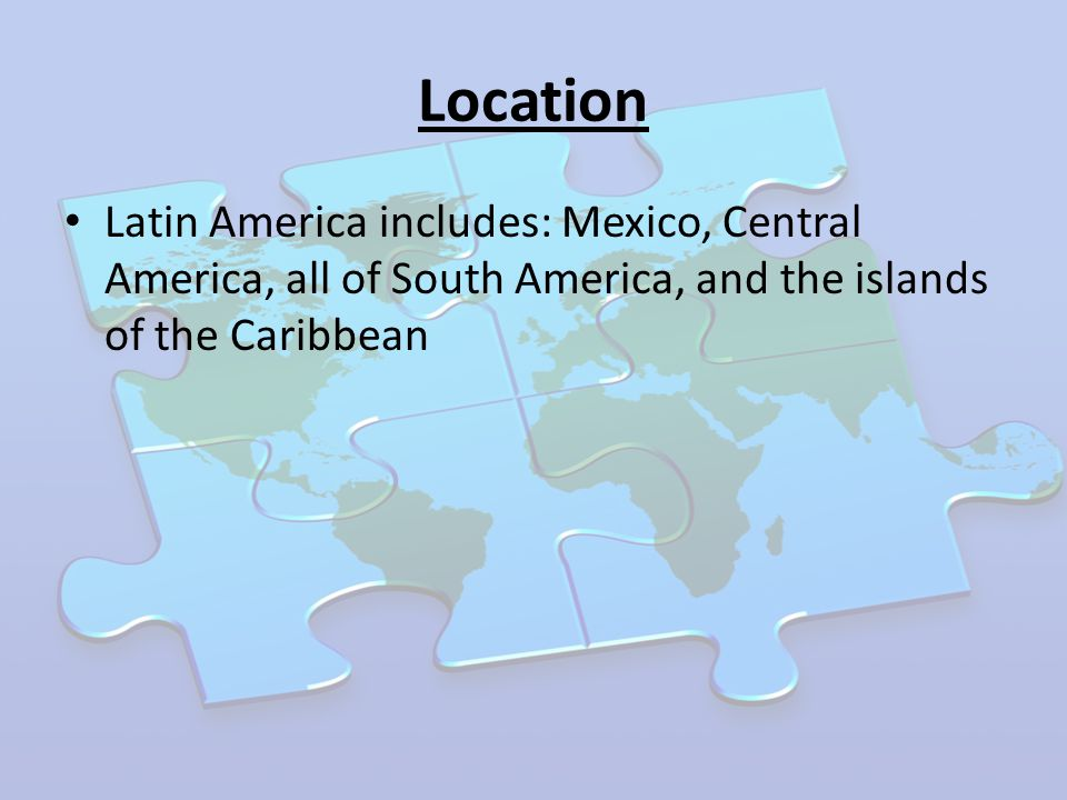 latin america study guide Gallery crawl- student research projects in unit 12, students will dive into the physical geography of latin america: (mexico, caribbean, and central america) and south america.