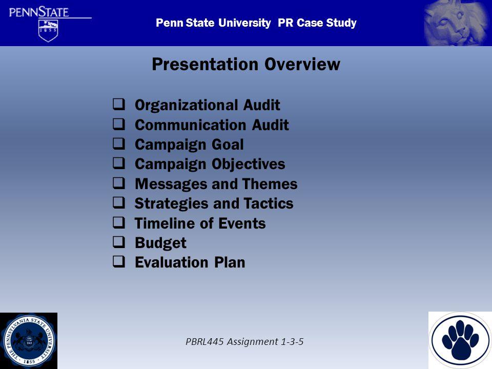 public relations campaign essays