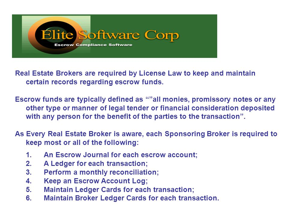 Providing Software Solutions for Real Estate Brokers, Attorneys ...