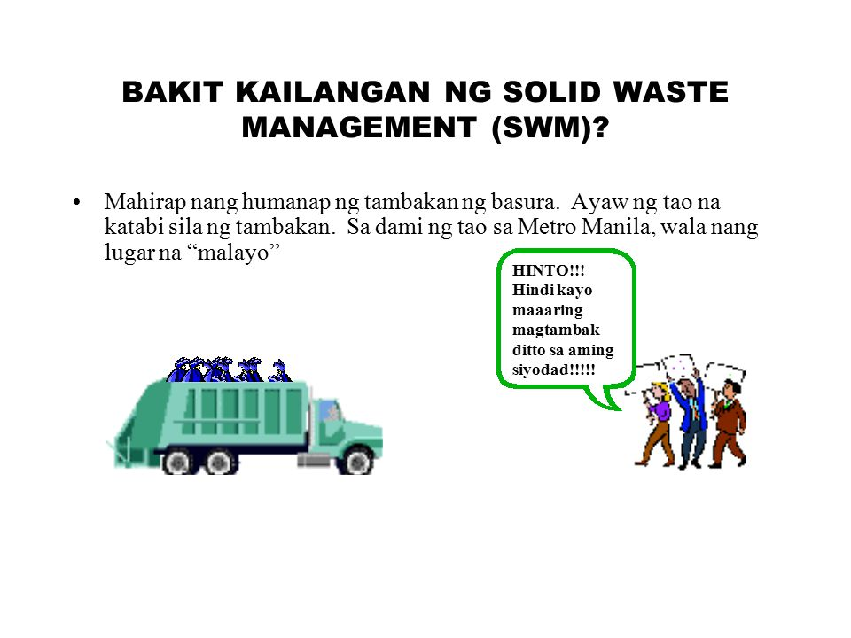 solid waste management in philippines National solid waste maaagement the national solid waste management act arrangement of sections part i preliiiiiiinn i short title 2, interpretation part 11 .