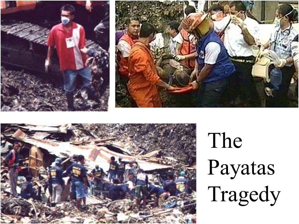 payatas tragedy Pnoc ec payatas landfill gas to energy project  4 payatas operations group (po ),  in july 2000, tragedy.