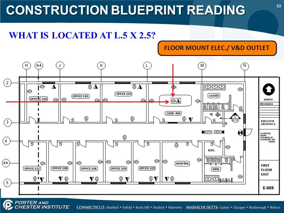 Construction blueprint reading ppt video online download construction blueprint reading malvernweather Images