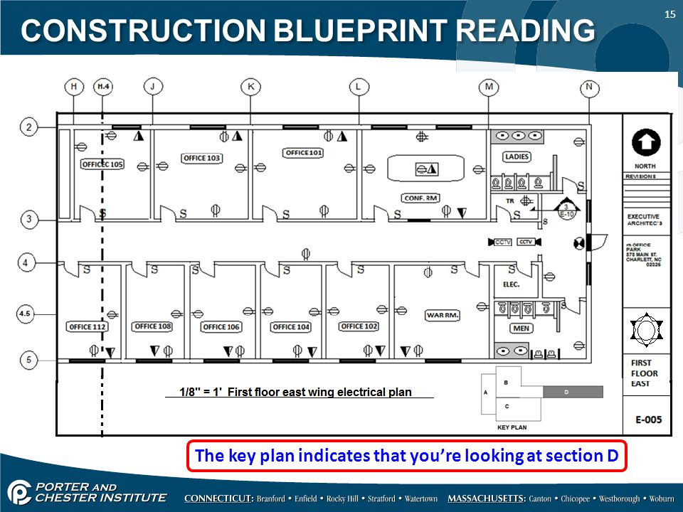 Construction blueprint reading ppt video online download for How to read construction blueprints