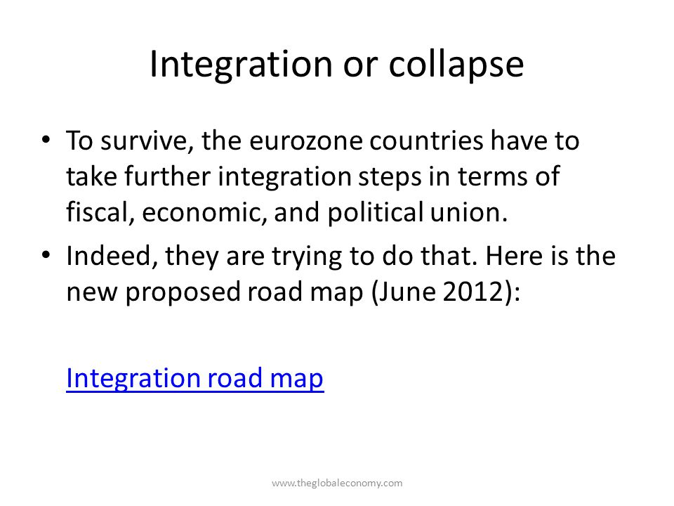 Integration or collapse