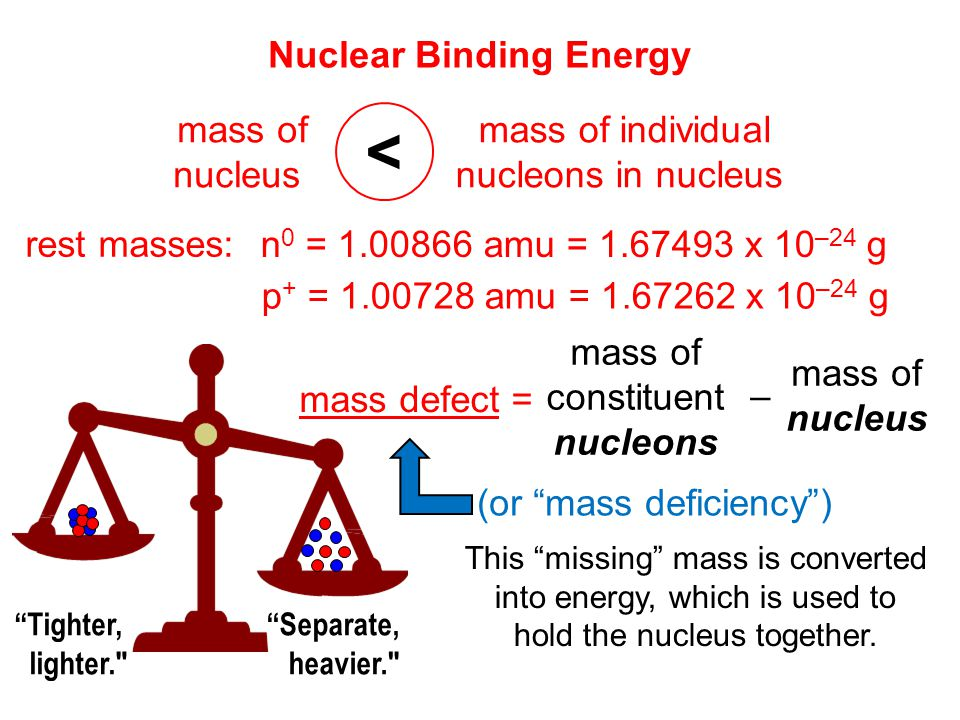 how to find the energy nucleons