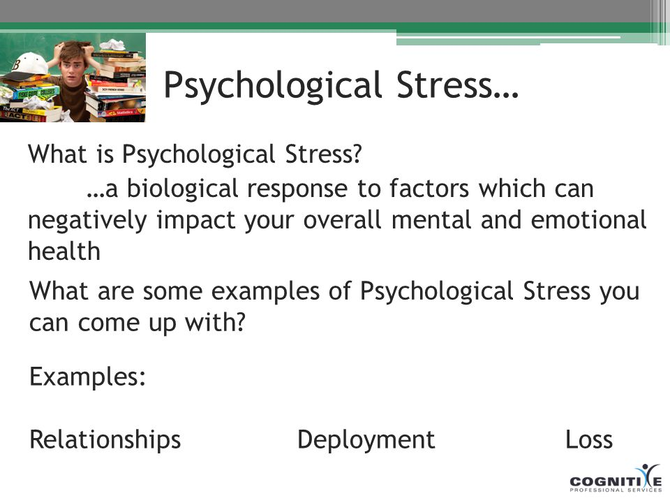 how to come out of mental stress