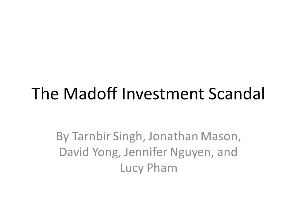 why the sec failed to uncover the madoff fraud essay Victims of bernard madoff'sinvestment fraud have madoff investors can't sue sec which outlined how the agency missed red flags and failed to.