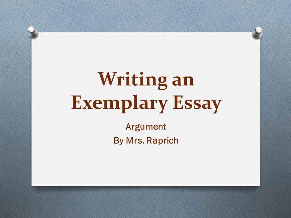 essay exemplary Example to exemplary essays - download as pdf file (pdf), text file (txt) or read online.