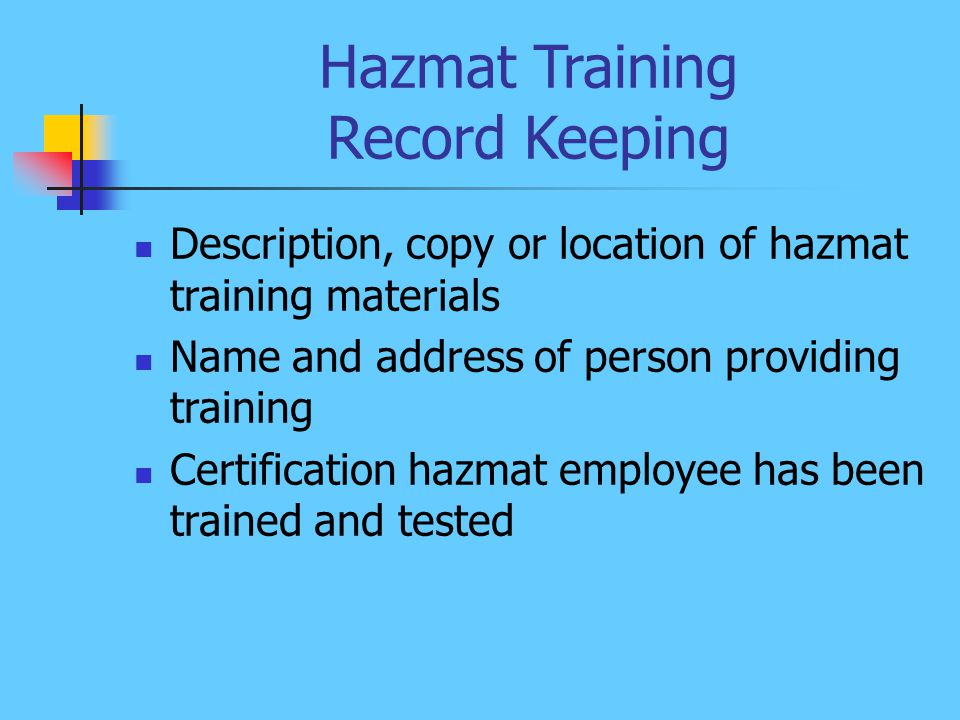 how to get hazmat certification