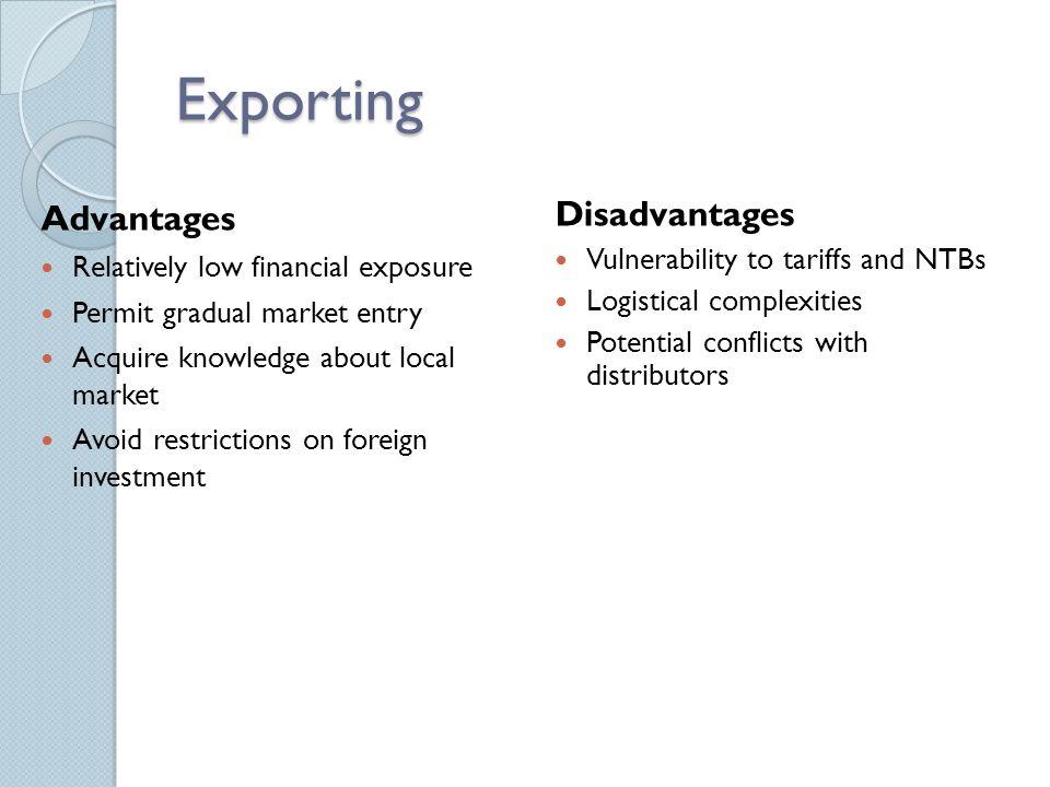 Advantages And Disadvantages Of Tariffs