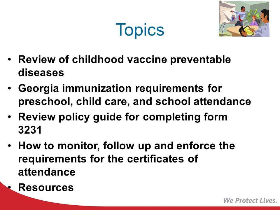 preschool immunization requirements requirements for school and childcare attendance 154