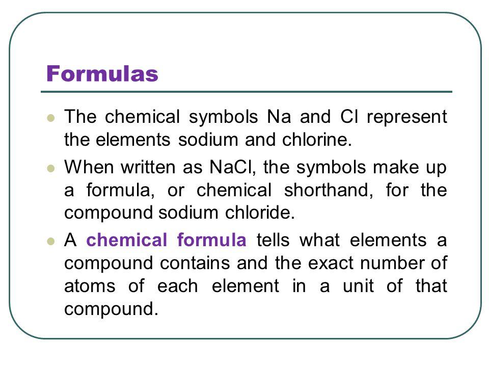 Pictures Of Chemical Formula For Salt Kidskunstfo