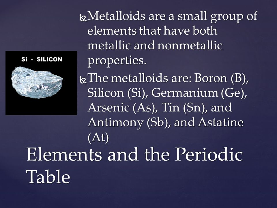 Elements and compounds ppt video online download elements and the periodic table urtaz Gallery