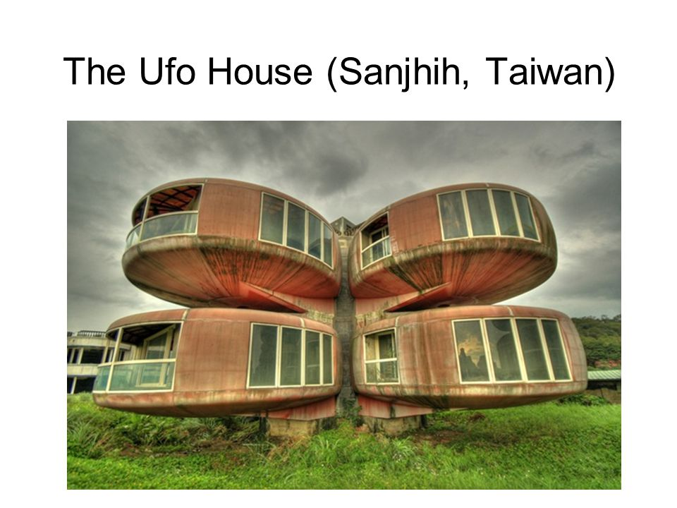 13 The Ufo House (Sanjhih, Taiwan)