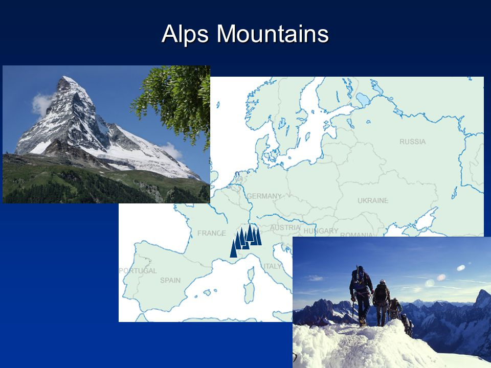 physical map of western europe ppt download