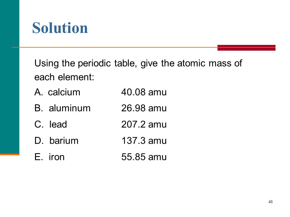 How periodic table showing atomic mass and number periodic table chapter 5 atoms and periodic table ppt download how periodic table showing atomic mass urtaz Gallery