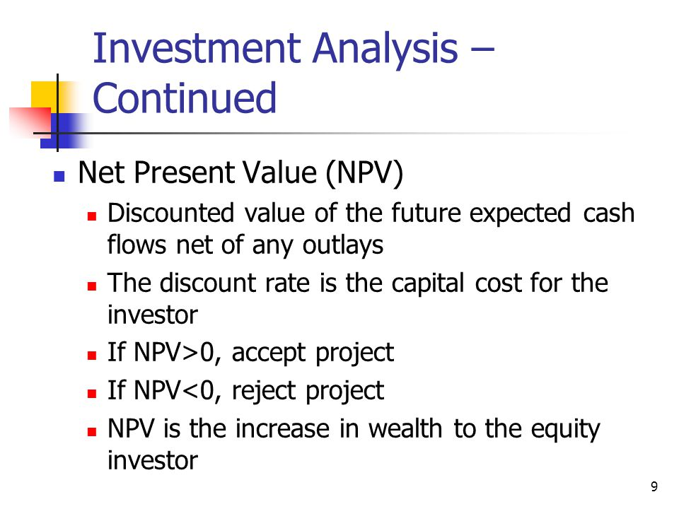 Investment Analysis And Taxation Of Income Properties  Ppt Video
