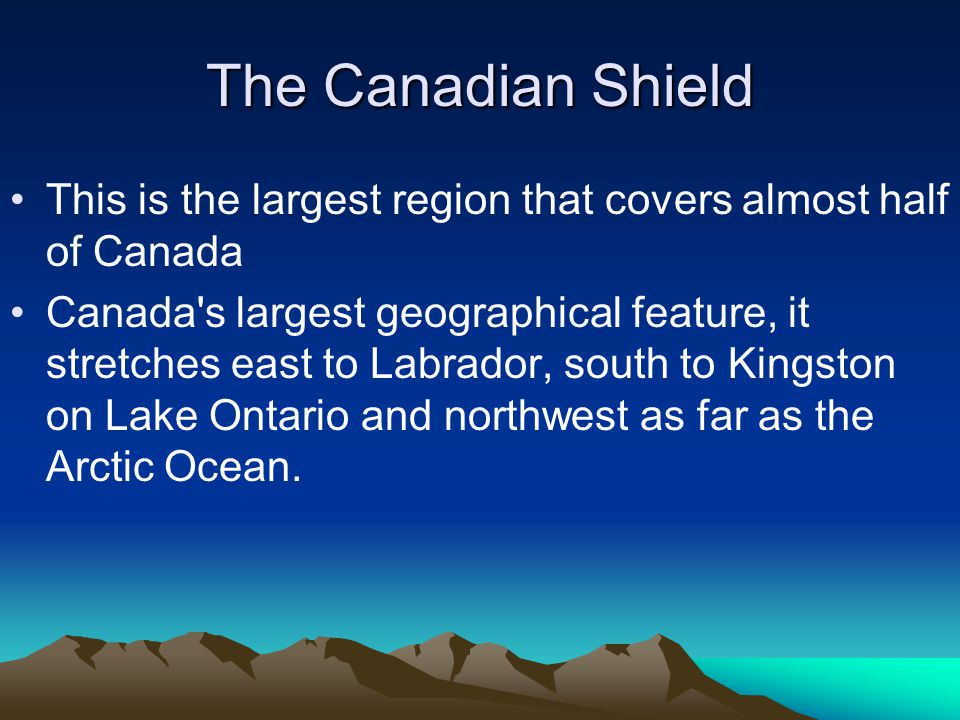 canada s 7 largest landform regions Landform regions of canada the movement of the earth's plates, and the   lowlands 5 appalachian 6 hudson bay lowlands - arctic lowlands 7.