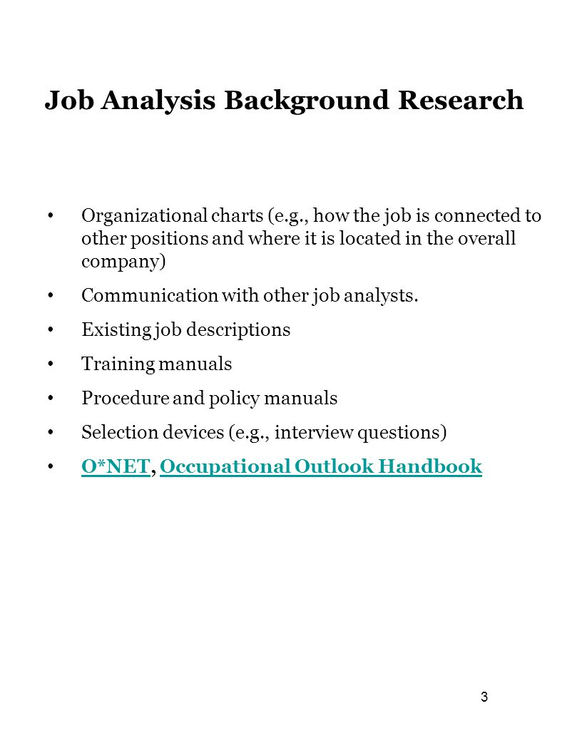 job analysis and selection 2 Full-text paper (pdf): analysis of the recruitment and selection process   tracts or anything regarding to job and organizations requirements the purpose   planning, recruitment, and selection (2) human resource development (3)  com.