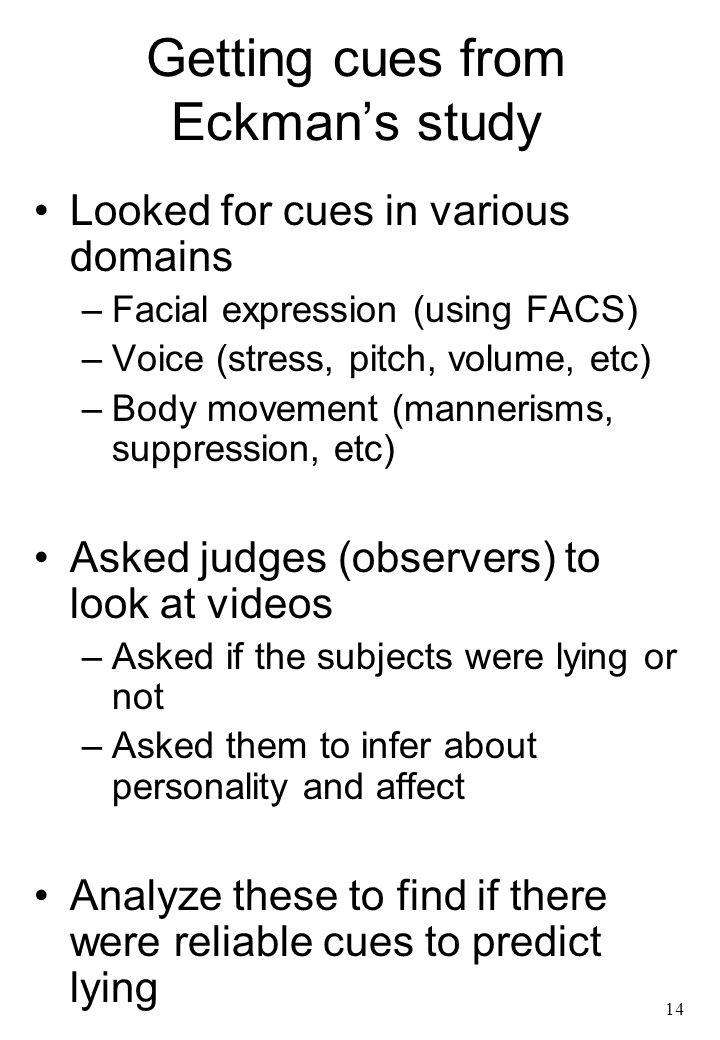 how to detect a lie through text