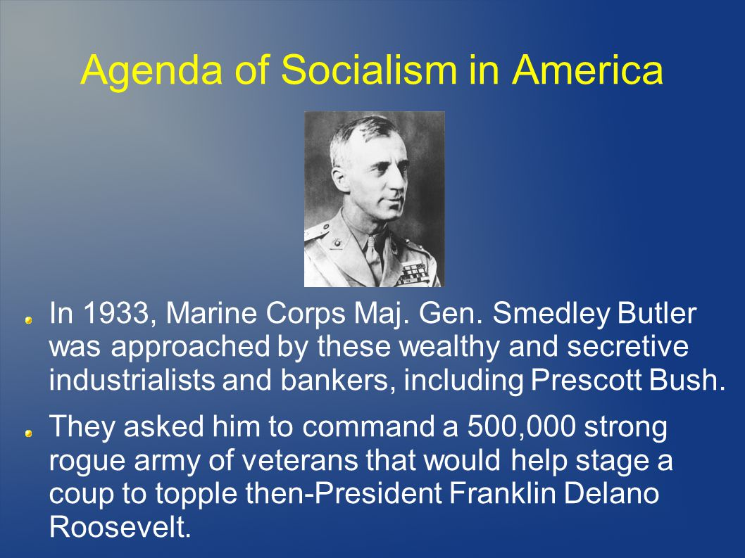 Agenda of Socialism in America