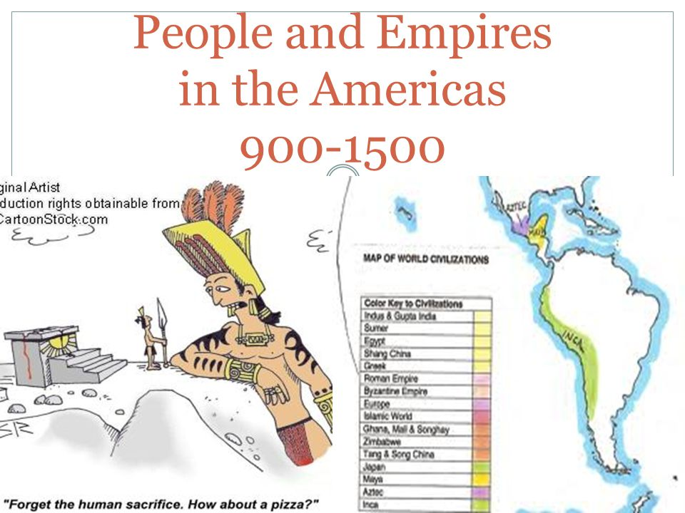 People and Empires in the Americas