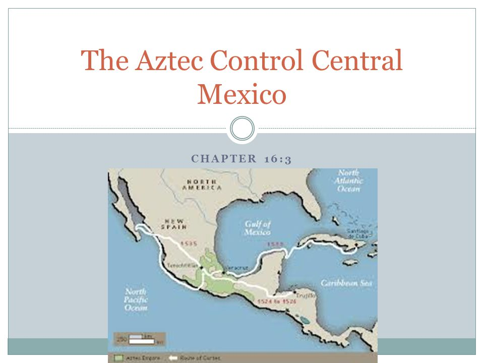 The Aztec Control Central Mexico
