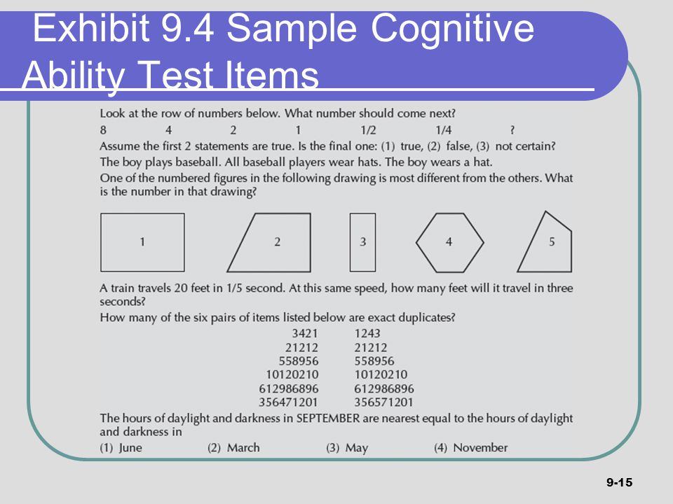 higher ability selection test pdf