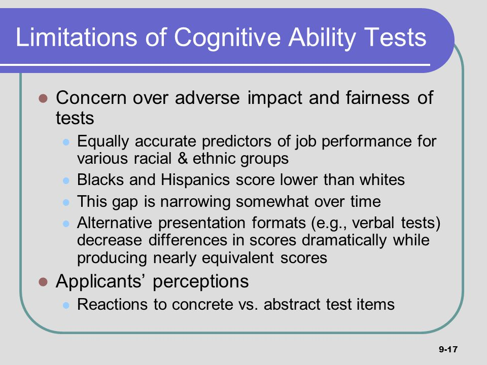 """cognitive ability on job performance """"the degree to which changes in cognitive function may impact workers' job  performance varies,"""" says bradford dickerson, a neurologist at."""