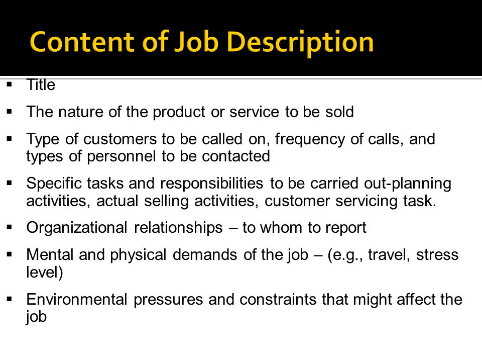 profiling and recruiting salespeople ppt download