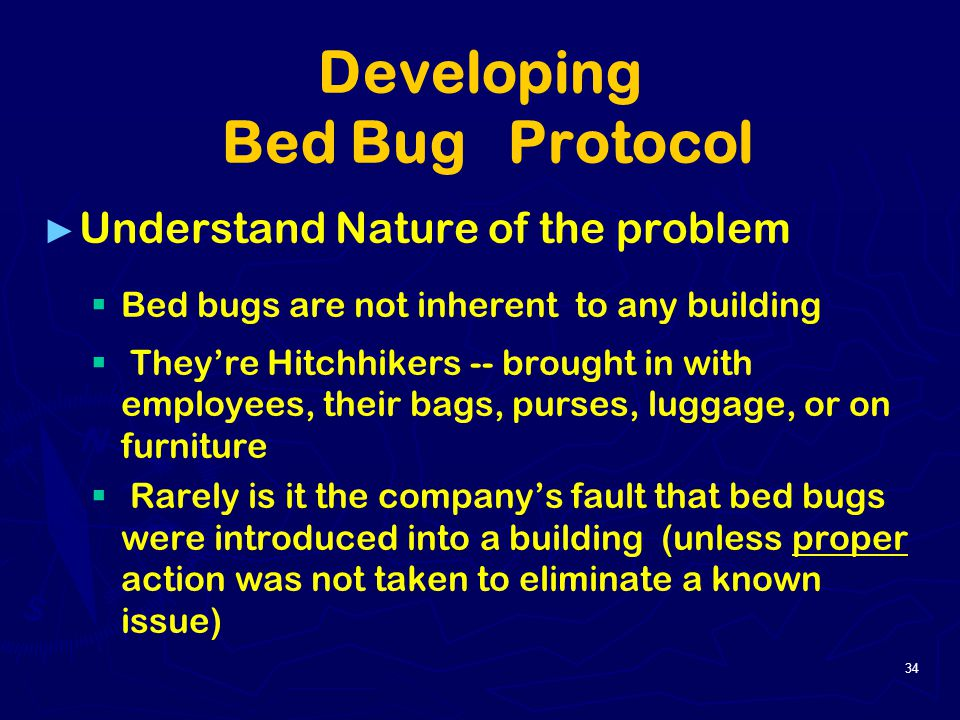 bed bugs other annoying issues in the workplace ppt With bed bug protocol