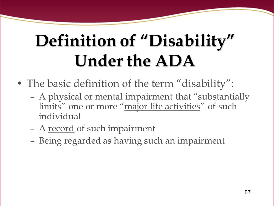 definition of physical disability pdf