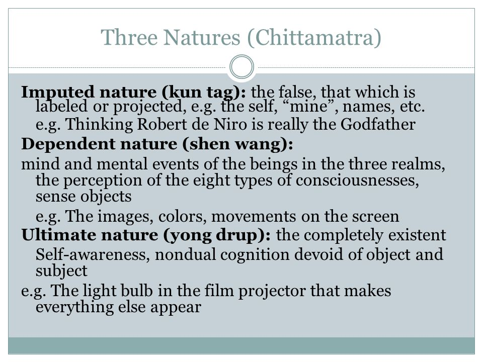 Three Natures (Chittamatra)