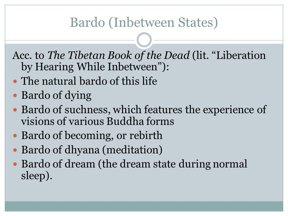 Bardo (Inbetween States)