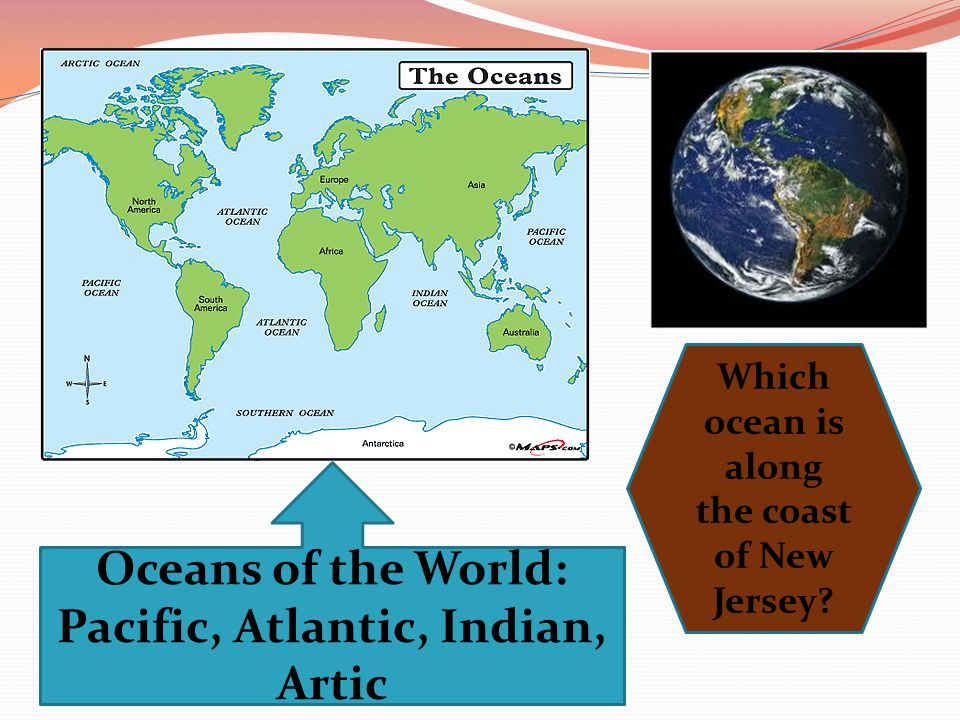 Oceans of the World: Pacific, Atlantic, Indian, Artic