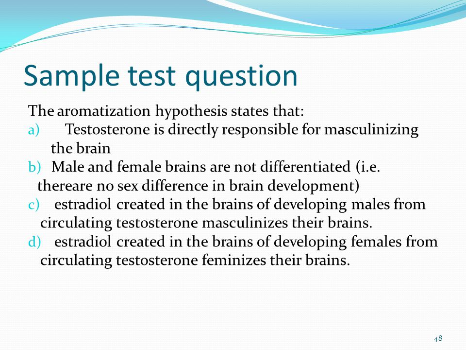 how to stop aromatization of testosterone