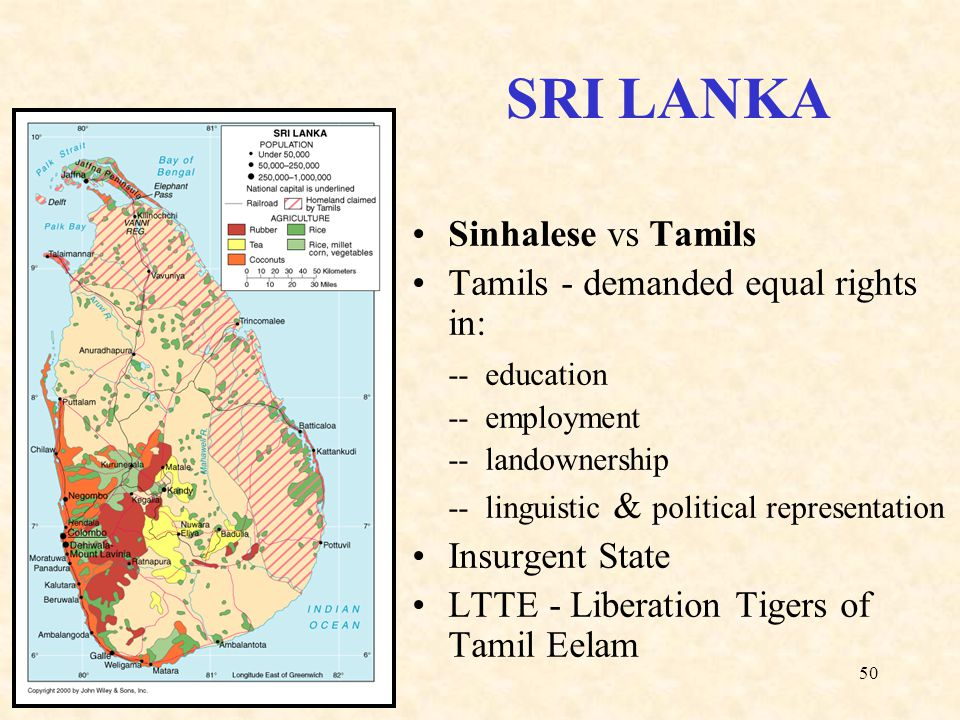 sinhalese versus the tamils essay Essay – diaspora dilemmas: australia and the sri lanka conflict  this meant  more jobs for the sinhalese, and tamil public servants who.