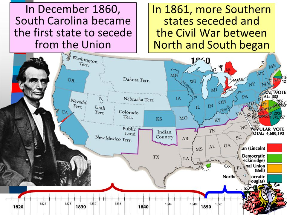 the southern states secede in 1861 essay The liberty papers life liberty  did the south have the right to secede   slavery was the reason for secession the right the southern states desired to .