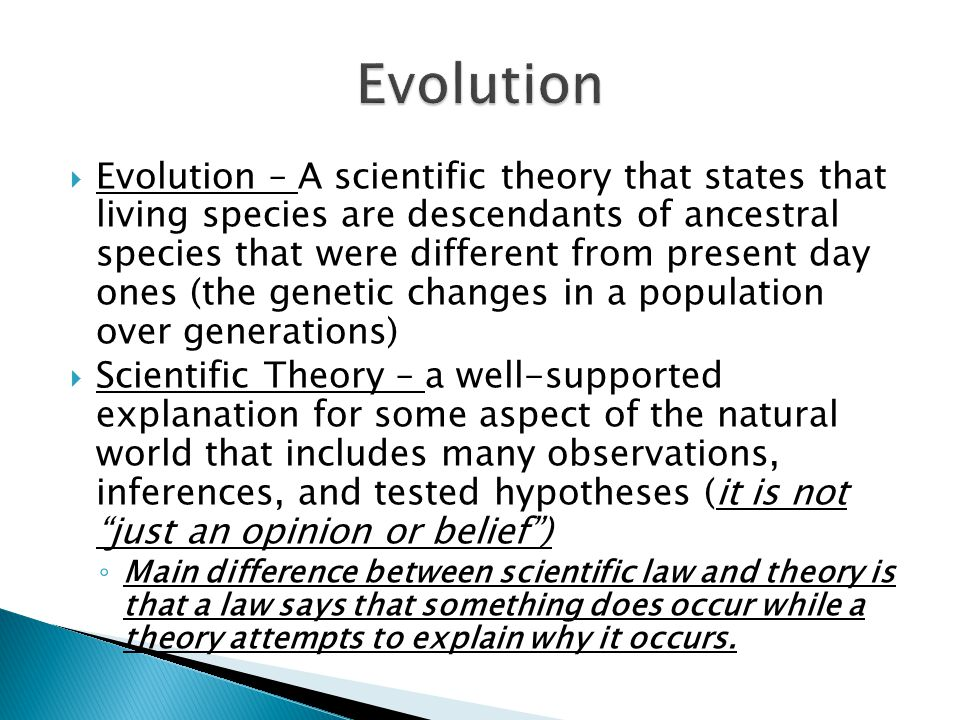 the different types of evolution that happen in our planet Human evolution, the process by  and that our species also lived for a time contemporaneously with at least one other member of our  select feedback type.