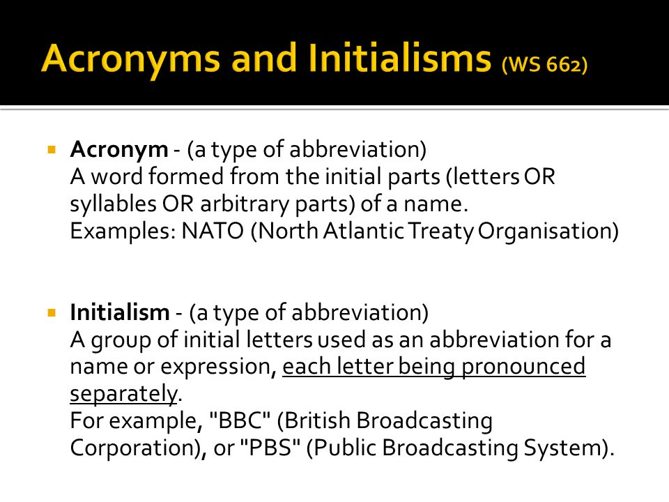 Abbreviations & Numbers Rules - ppt video online download