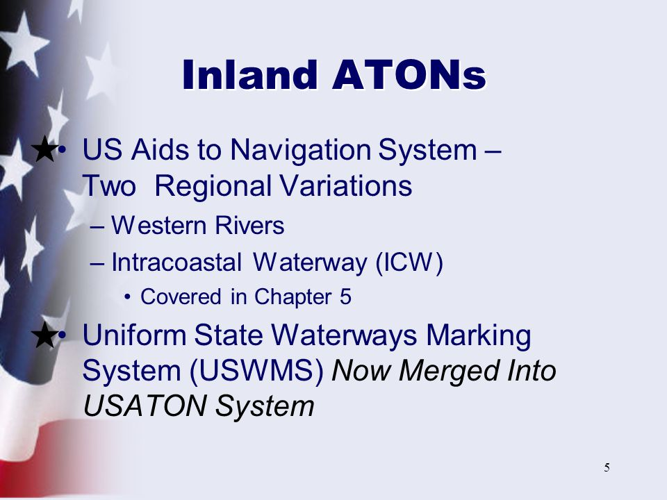 Boating skills seamanship ppt video online download inland atons us aids to navigation system two regional variations sciox Choice Image